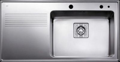 Мойка кухонная Teka Frame 1B 1D PLUS RHD (полированная) - общий вид