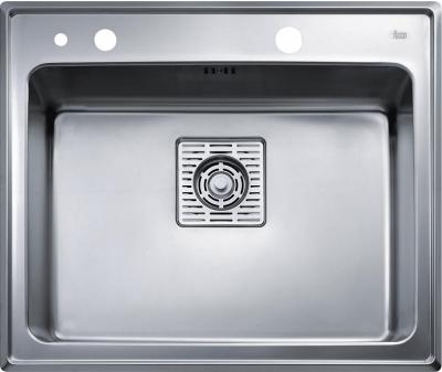 Мойка кухонная Teka Frame 1B Plus (полированная) - вид сверху