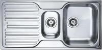 Мойка кухонная Teka Princess 1 1/2C 1E (полированная) -