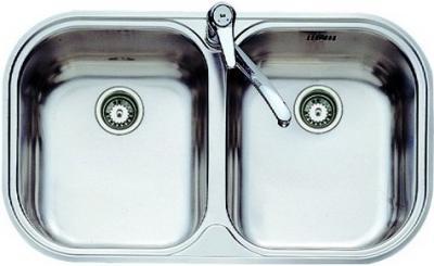 Мойка кухонная Teka Stylo 2C (полированная) - вид сверху