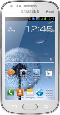 Смартфон Samsung S7562 Galaxy S Duos White (GT-S7562 UWASER) - общий вид