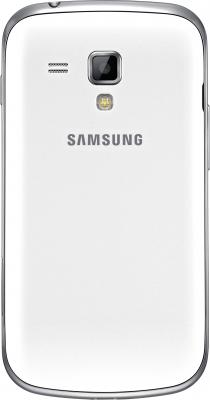 Смартфон Samsung S7562 Galaxy S Duos White (GT-S7562 UWASER) - задний план
