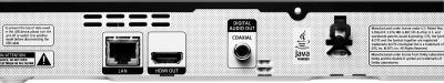 Blu-ray-плеер Samsung BD-E5300K - вид сзади: детальное изображение