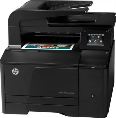 МФУ HP LaserJet Pro 200 color MFP M276n (CF144A) - общий вид