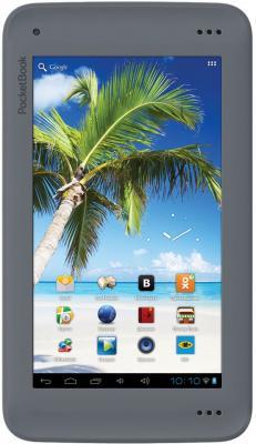 Планшет PocketBook SURFPad U7 (Black-Gray) - фронтальный вид