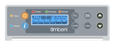 Конвектор Timberk TEC.PS1 PGE 1500 IN - панель управления