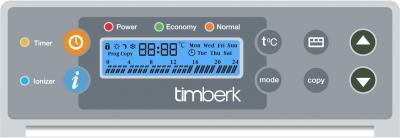 Конвектор Timberk TEC.PS1 PGE 2000 IN - панель управления