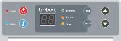 Конвектор Timberk TEC.PS1 RCE 2000 IN - панель управления