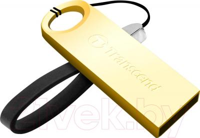 Usb flash накопитель Transcend JetFlash 520G 16Gb Gold (TS16GJF520G)