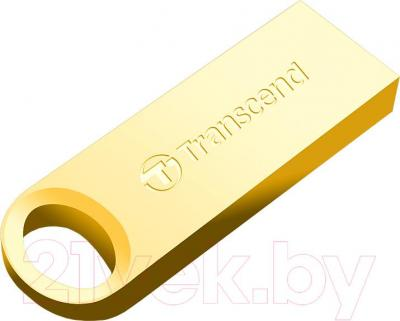Usb flash накопитель Transcend JetFlash 520G 32Gb Gold (TS32GJF520G)