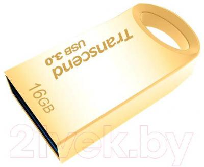 Usb flash накопитель Transcend JetFlash 710 Gold 16GB (TS16GJF710G)
