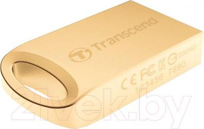 Usb flash накопитель Transcend JetFlash 510G 32GB Gold (TS32GJF510G)