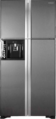 Холодильник с морозильником Hitachi R-W662PU3GGR