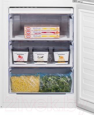 Холодильник с морозильником Beko RCSK380M21S
