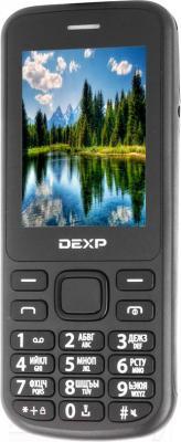 Мобильный телефон DEXP Larus E7 (черный)