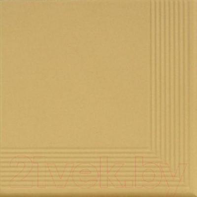 Ступень клинкерная Cerrad Piaskowa угловая (300x300)