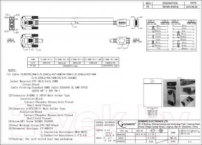 Кабель HDMI Gembird CC-HDMI-DVI-10MC