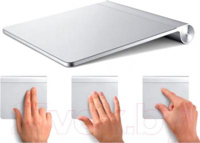 Тачпад Apple Magic Trackpad MC380ZM/B - пример жестов