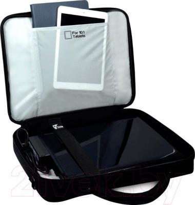 """Сумка для ноутбука Port Designs Courchevel Clamshell 15.6"""" / 160512 - пример использования"""