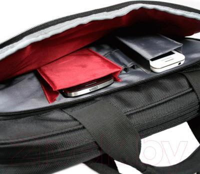 Сумка для ноутбука Port Designs London Clamshell 14'' / 160501 (черный) - пример использования