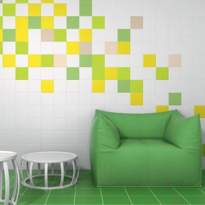 Плитка Kerama Marazzi Калейдоскоп 5111 (200x200, зеленый)