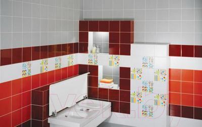 Плитка для стен ванной Kerama Marazzi Калейдоскоп 5210 (200x200, коричневый блестящий)