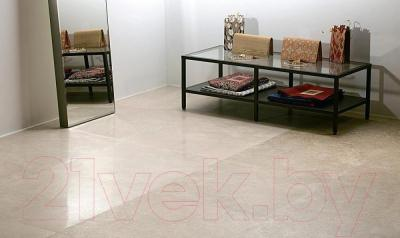 Плитка для пола ванной Kerama Marazzi Бихар SG611502R (600x600, темно-бежевый)