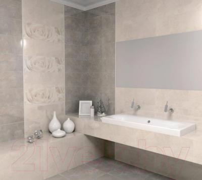 Декоративная плитка Kerama Marazzi Розовый Город Роза 12056/3F (750x250)