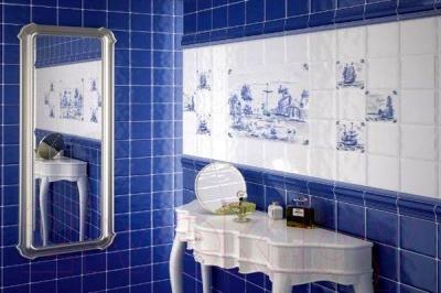Декоративная плитка для ванной Kerama Marazzi Бриз KYVO (100x100)