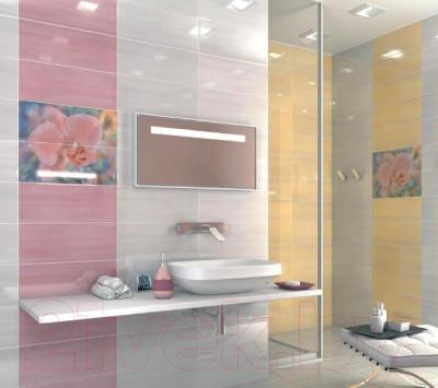 Плитка Kerama Marazzi Сатари 7112 (500x200, розовый)