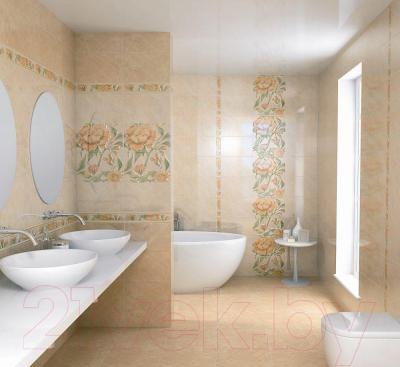 Бордюр для ванной Kerama Marazzi Фантазия AR145\6230 (400x60)