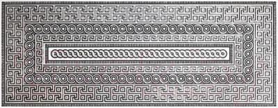 Декоративная плитка для ванной Kerama Marazzi Лацио АС152\7000 (500x200)