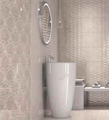 Плитка для стен ванной Kerama Marazzi Ричмонд Структура 13003R (895x300, бежевый)