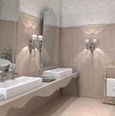 Декоративная плитка для ванной Kerama Marazzi Абингтон Цветы 11089TR (600x300)