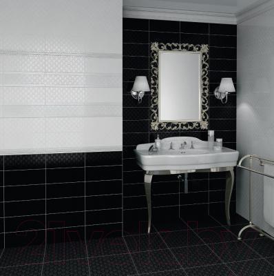 Плитка для пола ванной Kerama Marazzi Уайтхолл 4211 (402x402, черный)