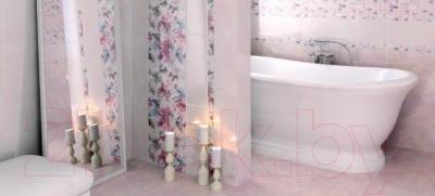 Плитка для стен ванной Kerama Marazzi Кенсингтон 7129 (500x200, темно-розовый)