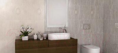 Плитка для стен ванной Kerama Marazzi Силуэт 6207 (400x250, кориченвый)