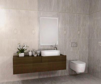 Плитка для пола ванной Kerama Marazzi Силуэт 4190 (402x402, коричневый)
