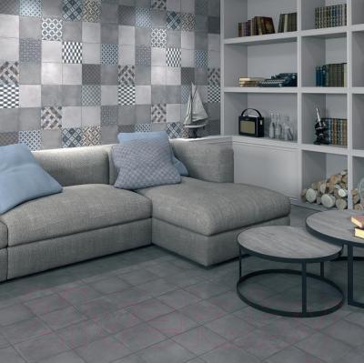 Плитка Kerama Marazzi Карнаби-стрит 1574N (201x201, серый)