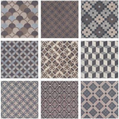 Декоративная плитка Kerama Marazzi Карнаби-стрит Орнамент 1577N (201x201)
