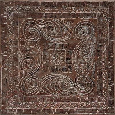 Декоративная плитка Kerama Marazzi Уффици А253/4012 (402x402, коричневый)