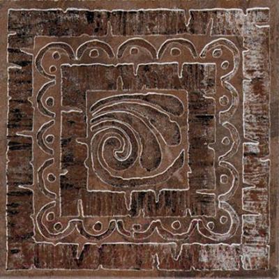 Декоративная плитка Kerama Marazzi Вставка Уффици А252/4012 (200x200, коричневый)