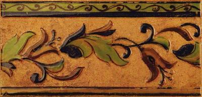 Декоративная плитка Kerama Marazzi Пале Рояль А1937\3330 (302x147, светло-бежевый)