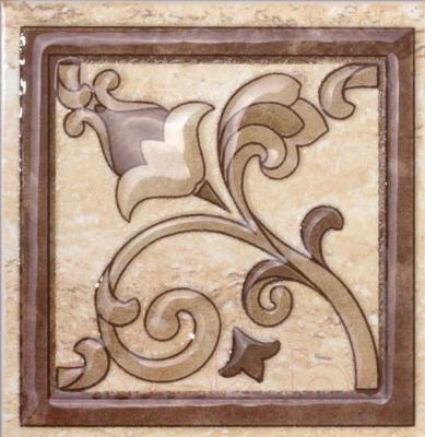 Декоративная плитка Kerama Marazzi Вставка Клермон А2071\3349 (97x97)