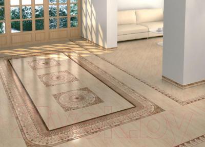 Декоративная  плитка для пола Kerama Marazzi Вставка Клермон А2071\3349 (97x97)