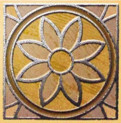 Декоративная плитка Kerama Marazzi Вставка Платан W004\3274 (72x72)