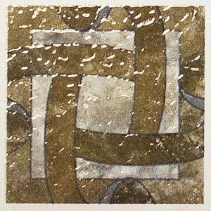 Декоративная плитка Kerama Marazzi Вставка Салон A2037\TU6001 (96x96)