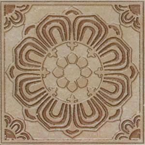 Декоративная  плитка для пола Kerama Marazzi Вставка Сен-Дени C1859\TU6001 (145x145)