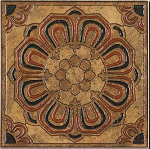 Декоративная  плитка для пола Kerama Marazzi Вставка Сен-Дени А1859\TU6001 (145x145)