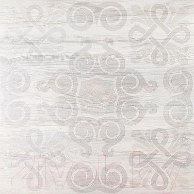 Декоративная плитка Kerama Marazzi Палаццо Орнамент SG618202R (600x600, серый)